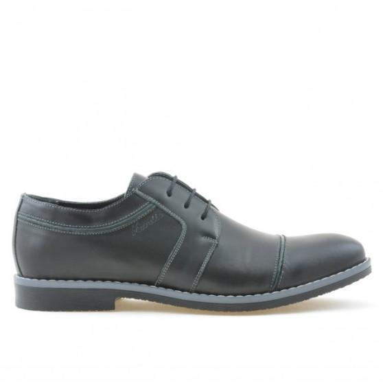 Men stylish, elegant, casual shoes 749 black