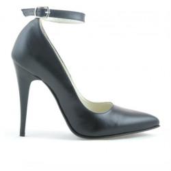 Women stylish, elegant shoes 1247 black