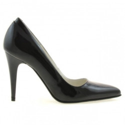 Women stylish, elegant shoes 1246 patent black