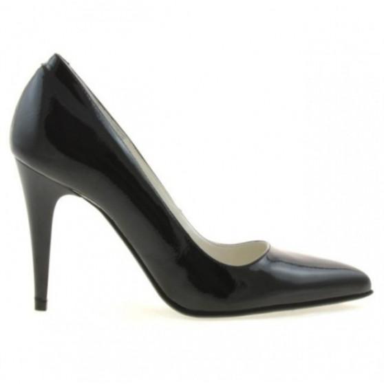 Women stylish, elegant shoes 1246 patent black