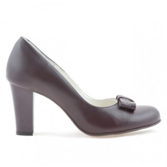 Pantofi eleganti dama 1245 bordo