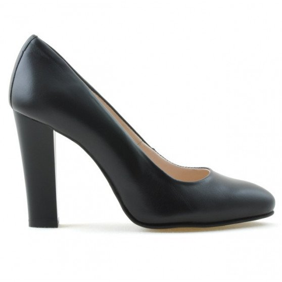 Women stylish, elegant shoes 1214 black