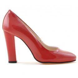 Pantofi eleganti dama 1214 lac rosu