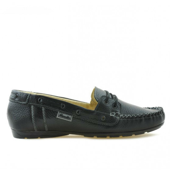 Women loafers, moccasins 620 black