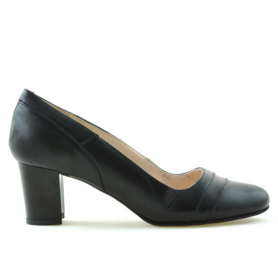 Women stylish, elegant shoes 1217 black