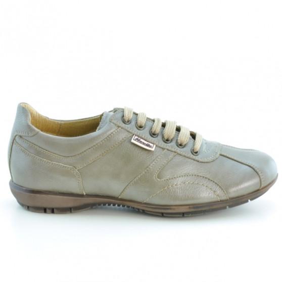 Teenagers stylish, elegant shoes 371 sand