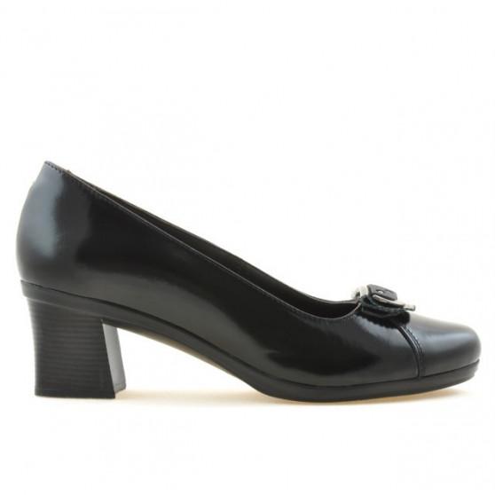 Pantofi casual / eleganti dama 628 lac negru