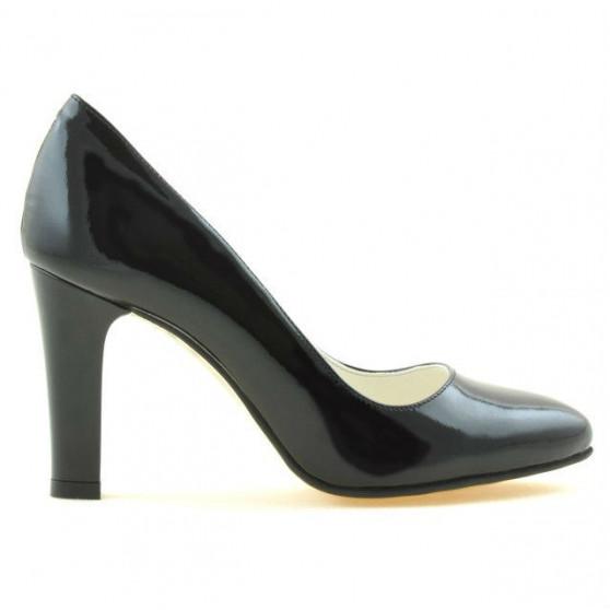 Women stylish, elegant shoes 1243 patent black