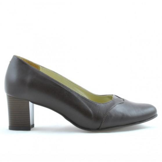 Women stylish, elegant shoes ( large size ) 1072xxl cafe