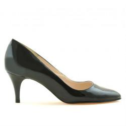 Women stylish, elegant shoes 1242 patent black