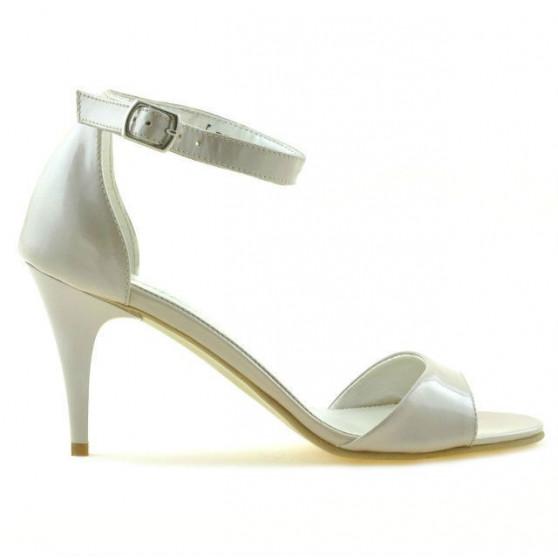 Sandale dama 1238-1 lac bej sidef