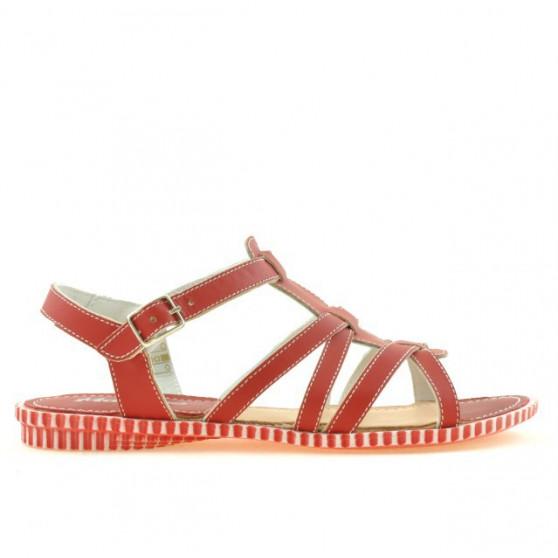 Sandale dama 595 rosu