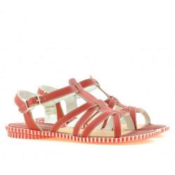 Women sandals 595 red