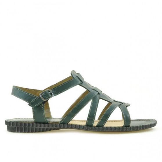 Women sandals 595 green