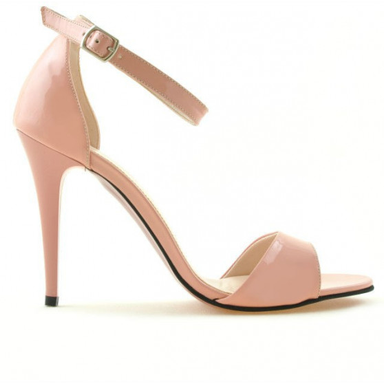 Women sandals 1238 patent pink