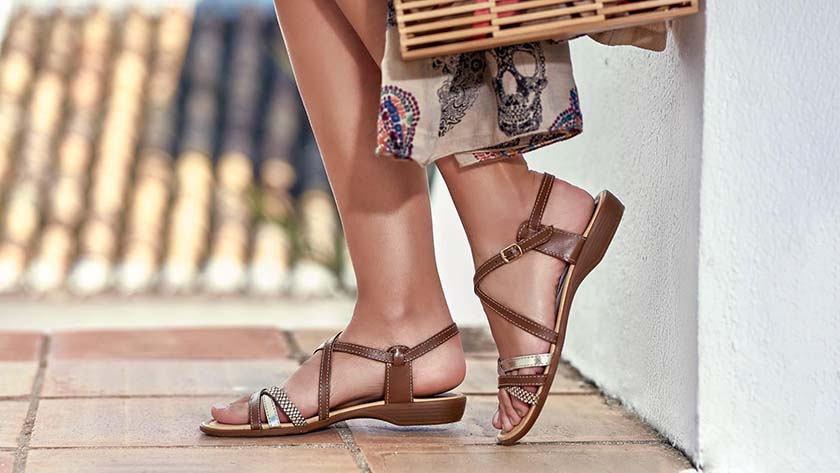 Take your partner out on the terrace, but also your shoes