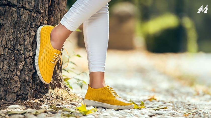 How to take care of shoes in light colors